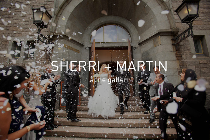 Oslo bryllup
