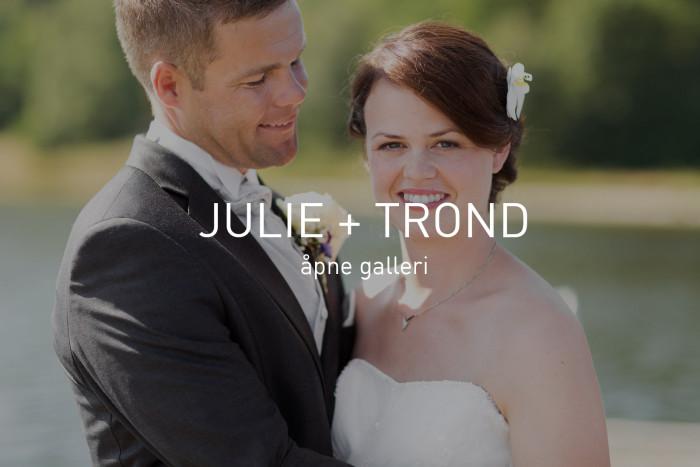 Julie + Trond