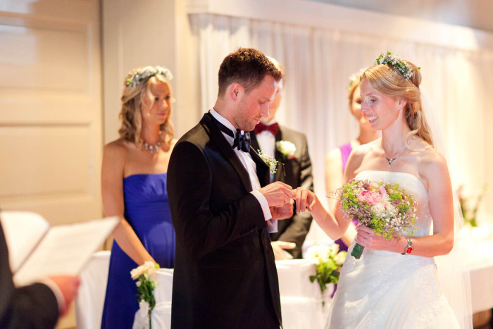 bryllup på Norske Studenters Roklub Bryllupsfotograf oslo luxe.no