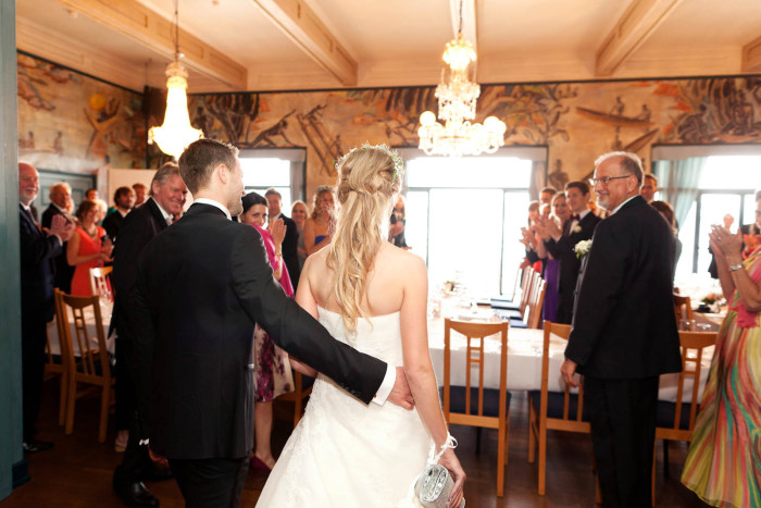 Bryllupsfotografering Oscarshall Oslo