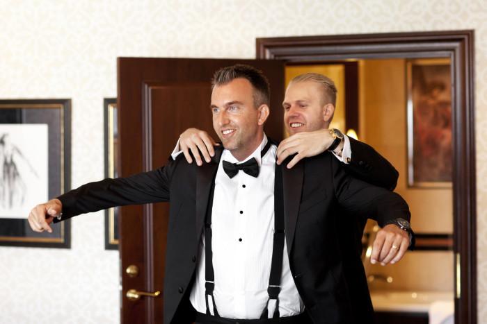 Grand Hotel Oslo bryllupsfotogarf