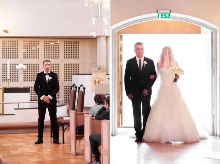Volerenga kirke bryllupsfoto oslo