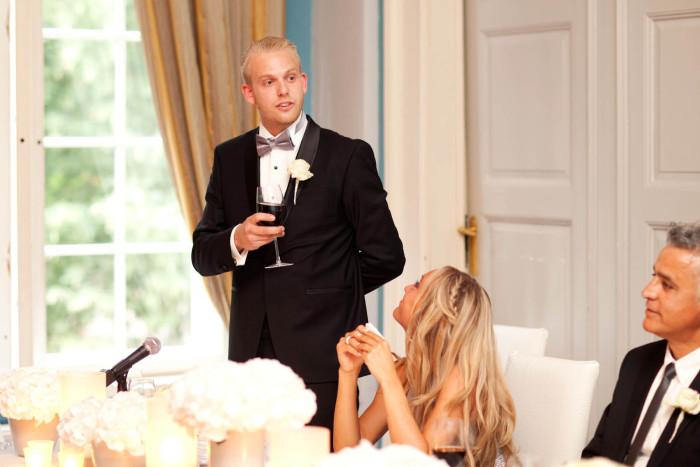Gamle logan bryllup